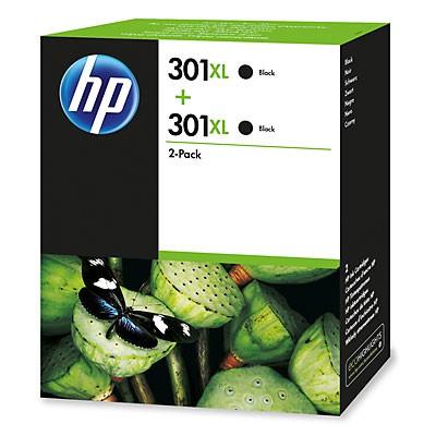 HP 301XL 2-pack Black