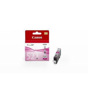 Tintenpatrone, CLI-521M, original, magenta, 9 ml