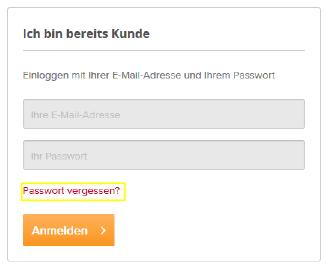 Passwort-vergessen