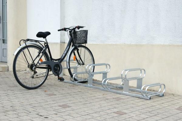 Fahrradständer 6 Plätze - Stellplätze höhenversetzt - feuerverzinkt