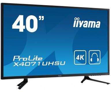 iiyama X4071UHSU-B1 39.5Zoll LED 4K Ultra HD Schwarz Public Display/Präsentationsmonitor