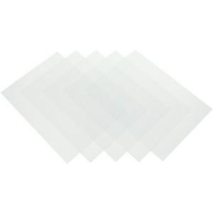 Deckblatt, zum Binden, Stärke: 0,2 mm, PVC, A4, transparent