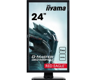 iiyama G-MASTER GB2488HSU 24Zoll Full HD TN Schwarz Computerbildschirm