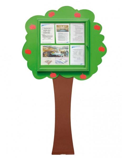 """Schaukasten """"Info-Baum"""""""