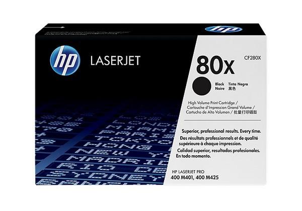 HP 80X Patrone 6900Seiten Schwarz