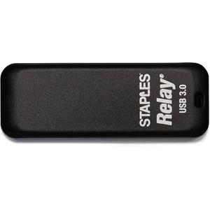 USB-Stick Relay®, mit Schieber, USB 3.0, 16 GB, schwarz
