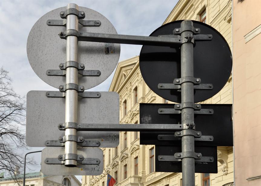 Verkehrszeichen-Halterung-Lasche-Besfestigungselement-Metall-Kleinteile