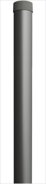 Rohrsteher Ø 60mm / Wandstärke 3mm / inkl. Abdeckkappe