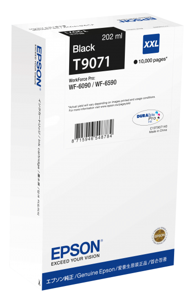 WF-6000 Serie Tintenpatrone XXL Black 10k