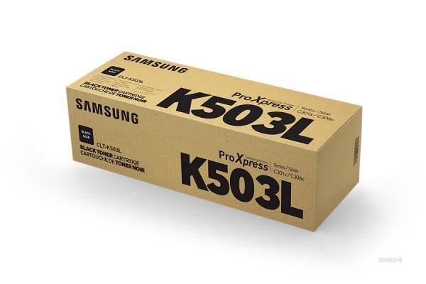 Samsung CLT-K503L Patrone 8000Seiten Schwarz Lasertoner & Patrone